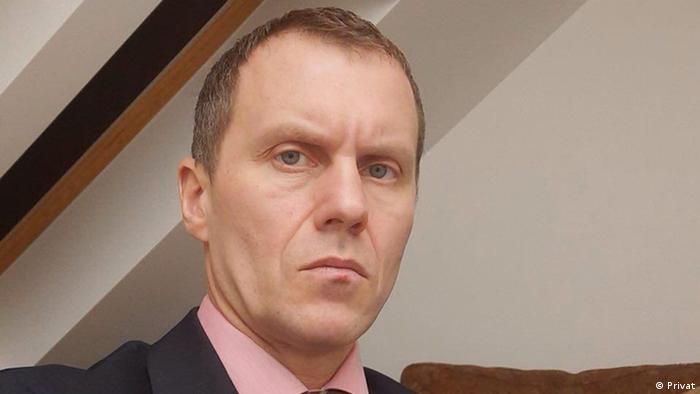 Білоруський опозиційний активіст і колишній співробітник антитерористичного спецпідрозділу Алмаз Ігор Макар
