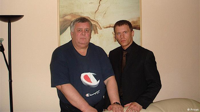 Олег Алкаєв (ліворуч) та Ігор Макар