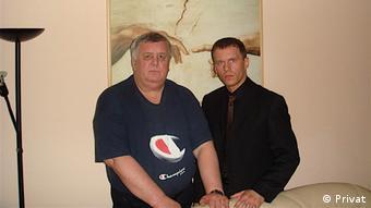 Олег Алкаев и Игорь Макар (фото из архива)