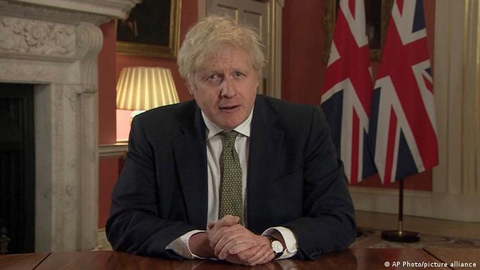 England | Coronavirus | TV Ansprache Boris Johnson