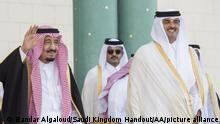 Katar | Salman bin Abdulaziz in Katar