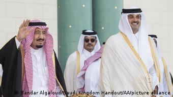 Katar   Salman bin Abdulaziz in Katar