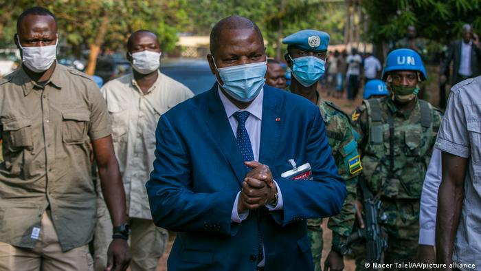Le président centrafricain, Faustin Archange Touadéra