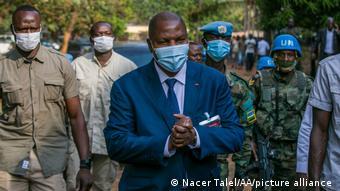 Le président Touadéra peut compter sur le soutien des forces internationales présentent en Centrafrique.