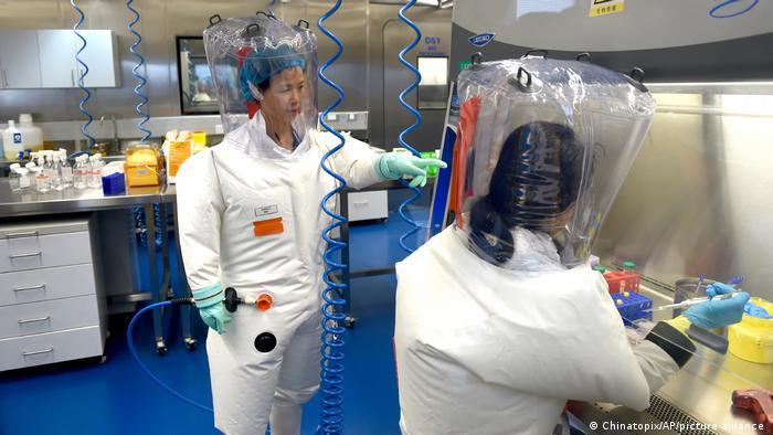 China I Virologin Shi Zhengli in Wuhan