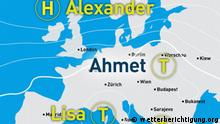 Wetterkarte #Wetterberichtigung