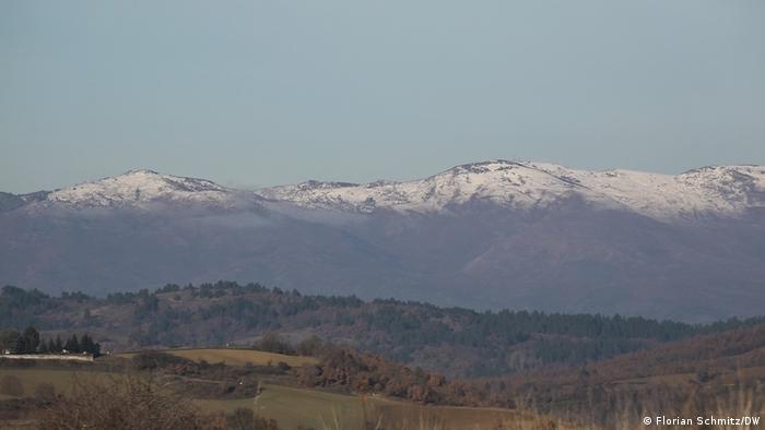 Teško prolazne planine između Grčke i Albanije