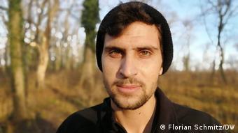 Сирийский беженец Али аль-Эбрахим