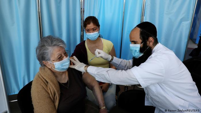 Israel Jerusalem | Coronavirusimpfung