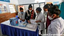Indien Ahmedabad | Coronavirus | Impfung