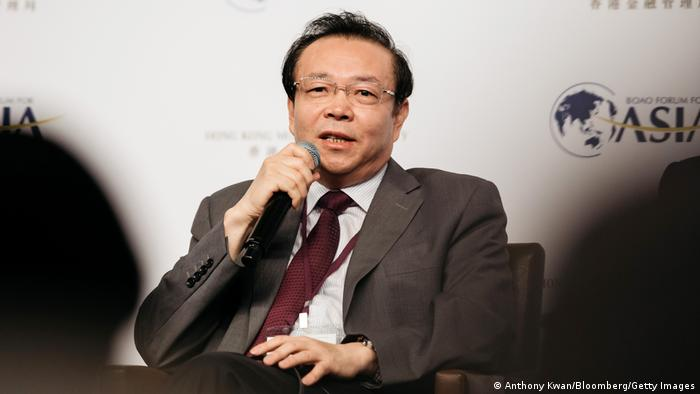 Lai Xiaomin, the former chairman of China Huarong Asset Management Co.
