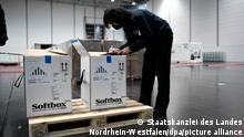 Deutschland Nordrhein-Westfalen   Coronavirus   Impfstoff eingetroffen