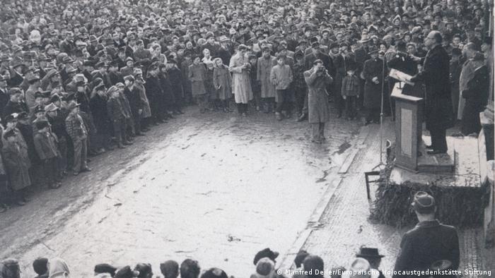 Demonstration in Landsberg, 1951