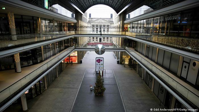 Symbolbild I Verlängerung des Lockdowns in Deutschland
