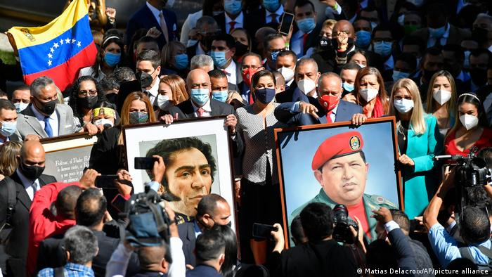 Assembleia Nacional venezuelana toma posse