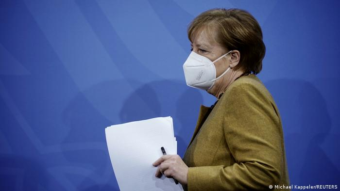 Lockdown In Deutschland Wird Verlangert Und Verscharft Aktuell Deutschland Dw 05 01 2021