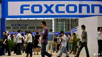 China Foxconn Suizid