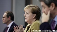 Berlin I Angela Merkel verkündet Verlängerung des Lockdowns