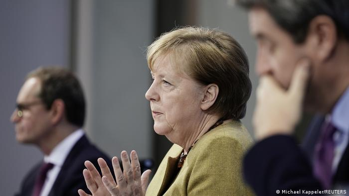 Angela Merkel anuncia novas regras do lockdown