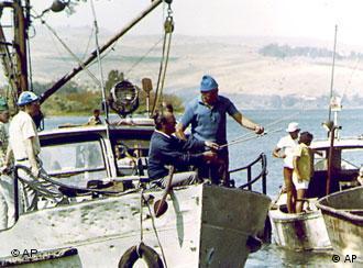 Estadista aproveitou para pescar no Mar da Galileia