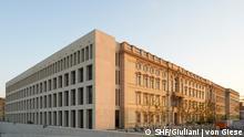 Berlin, Germany - facade of the Humboldt Forum