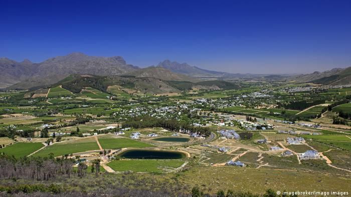 Franschhoek in the Western Cape Province