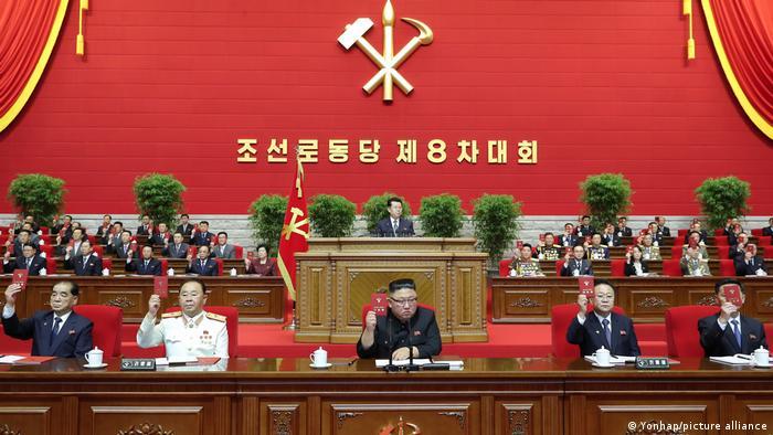 Nordkorea | Erster Kongress des Parteitages in Pjöngjang