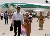 Bleiben am Boden: die Flugzeuge der staatlichen irakischen Airline