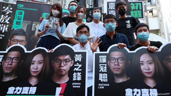 Symbolbild | Protest | Rund 50 prodemokratische Aktivisten in Hongkong festgenommen