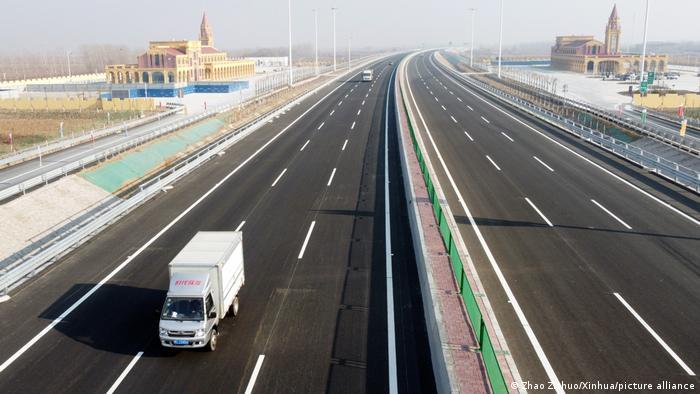 China Inbetriebnahme Tianjin-Shijiazhuang-Autobahn