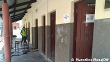 Mosambik Quelimane Toiletten in der Patrice-Lumumba-Schule