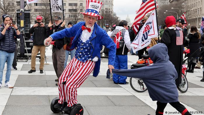 Washington Trump-Fans Protest gegen Wahlergebnis