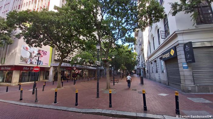 St. George's Mall in Cape Town