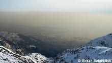 Iran I Luftverschmutzung in Teheran