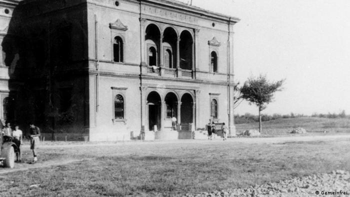 Die Villa Emma in einer Aufnahme von 1945