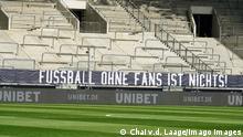 Transparent Fussball ohne Fans ist nichts!