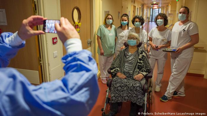 Frankreich Toulouse Coronavirusimpfung
