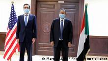Sudan Khartum |Steven Mnuchin, US-Finanzminister | Abdullah Hamdok, Premierminister