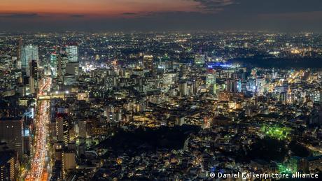 Japan | Tokio bei Nacht