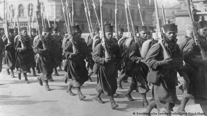 Francuski okupatori u Nemačkoj, 1923.