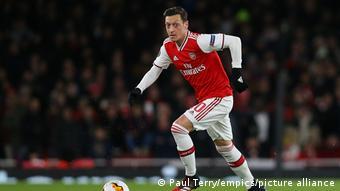 UEFA Europa League | Arsenal v Olympiakos - Mesut Özil