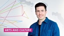 DW Arts and Culture Moderator David Levitz (Artikelbild Detailseite) VORAB