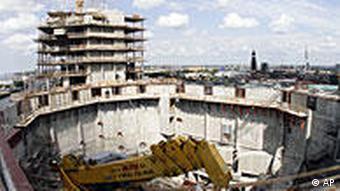 Elbphilharmonie construction site