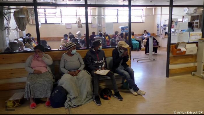 Südafrika | Coronavirus | Krankenhaus in Khayelitsha