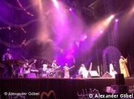 Bühne des Festivals Mawazine. Foto: Alexander Göbel