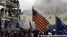 USA | Präsidentschaftswahl | Demonstranten im Capitol
