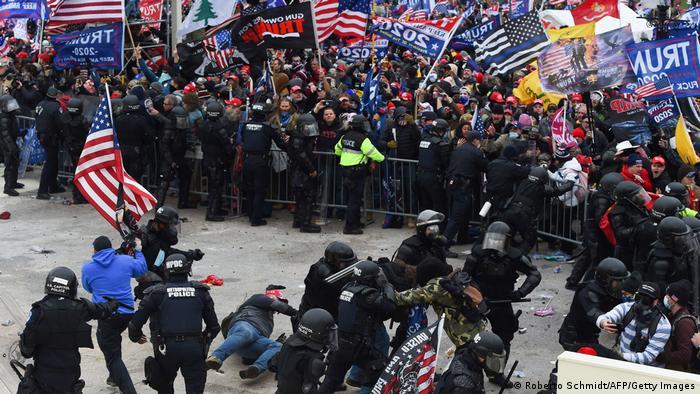 حمله طرفداران ترامپ به ساختمان کنگره
