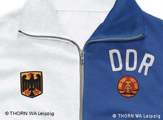 806750aeb Football shirt made up of West and East German colors