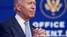 USA | Demonstranten im Capitol | PK Joe Biden