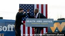 USA Georgia Wahl | Jon Ossoff und Raphael Warnock